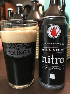 Left Hand Milk Stout Nitro 1