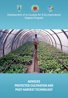 Protected Cultivation and Post Harvest Technology ICAR E course Free PDF Book Download e krishi shiksha