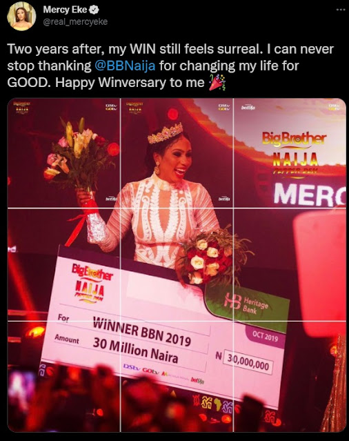 I Can Never Stop Thanking BBNaija For Changing My Life For Good – Mercy Eke