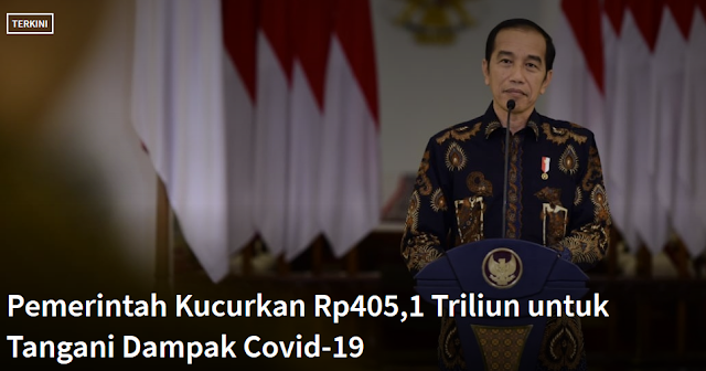 Kebijakan Presiden Jokowi terkait Covid-19 di Indonesia