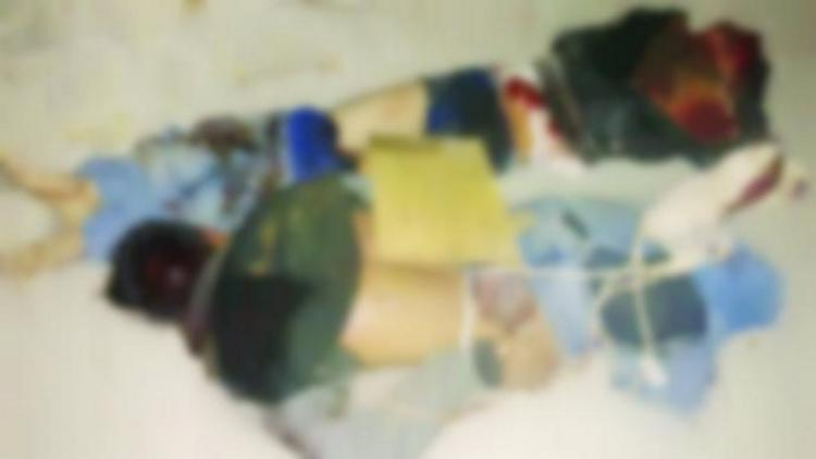 Policías persiguen y capturan a sicarios quienes momentos antes habían ejecutado a dos y dejado mensaje