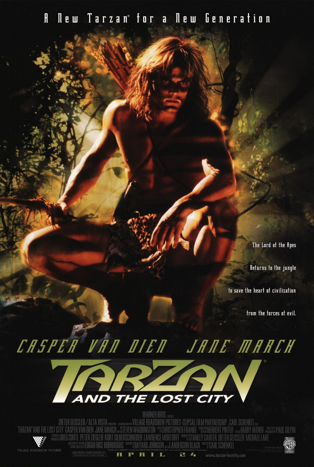 Tarzan and the Lost City 1998
