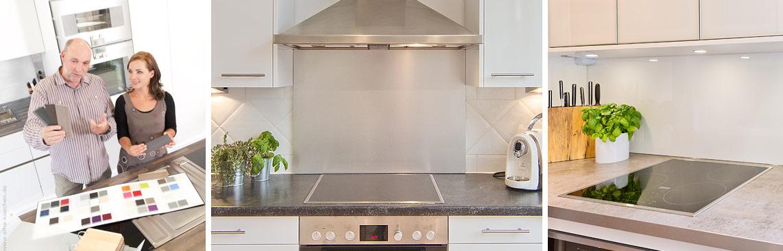 Wir renovieren Ihre Küche : Rueckwand fuer Kueche