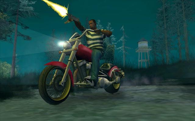 Grand Theft Auto GTA San Andreas (PC) Em Português