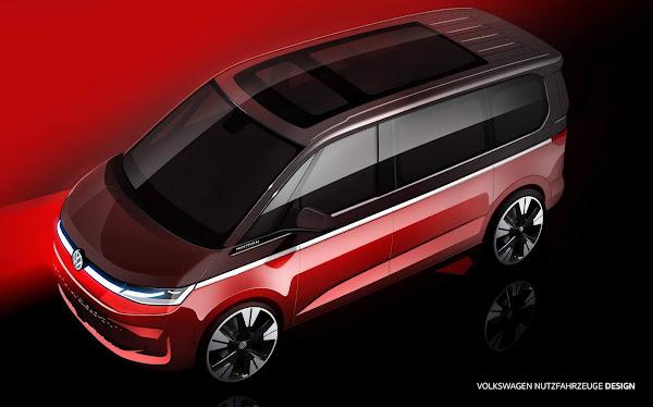 Nova VW Kombi 2022 mk7 terá plataforma do Golf - lançamento em julho