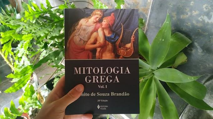 [RESENHA #803] MITOLOGIA GREGA (VOL. 1) - JUANITO DE SOUZA BRANDÃO