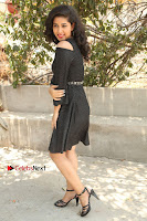 Telugu Actress Pavani Latest Pos in Black Short Dress at Smile Pictures Production No 1 Movie Opening  0209.JPG