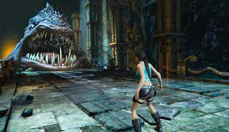 تحميل لعبة Lara Croft Guardian of Light apk + obb للاندرويد