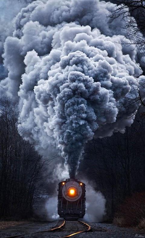 Khói tàu hỏa