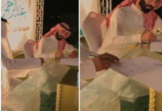 كم سعر اعلان عبدالرحمن المطيري