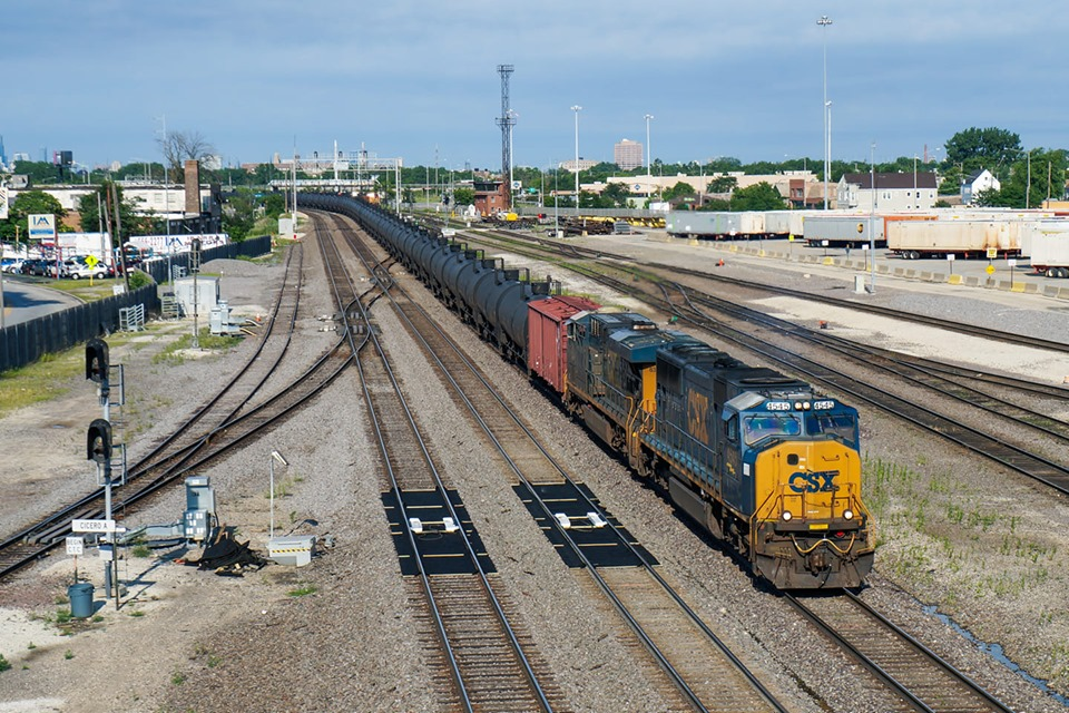 Industrial History: CB&Q's Clyde (Cicero) Yard and