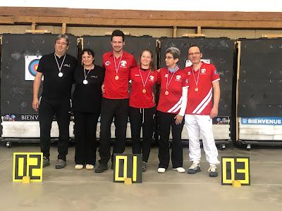 Trophée des mixtes 2020 - Première manche à Nîmes