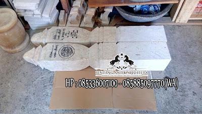 Jual Batu Nisan Marmer, Harga Pembuatan Batu Nisan, Nisan Patok Marmer