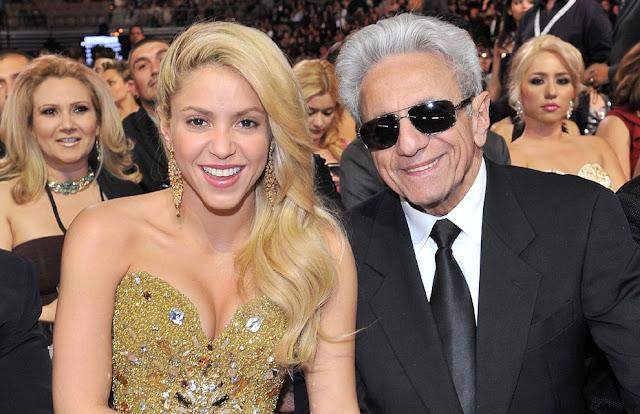 Shakira celebró el cumpleaños de su padre Publicar
