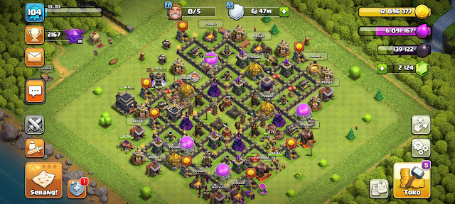 Game Online Android COC