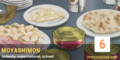 Food Anime Recommendation that Make You Hungry