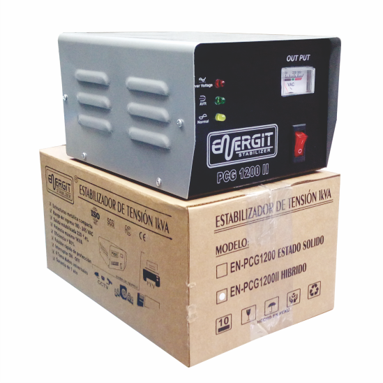 Estabilizador Híbrido 220vac EN-PCG1200II para PC S/90.00