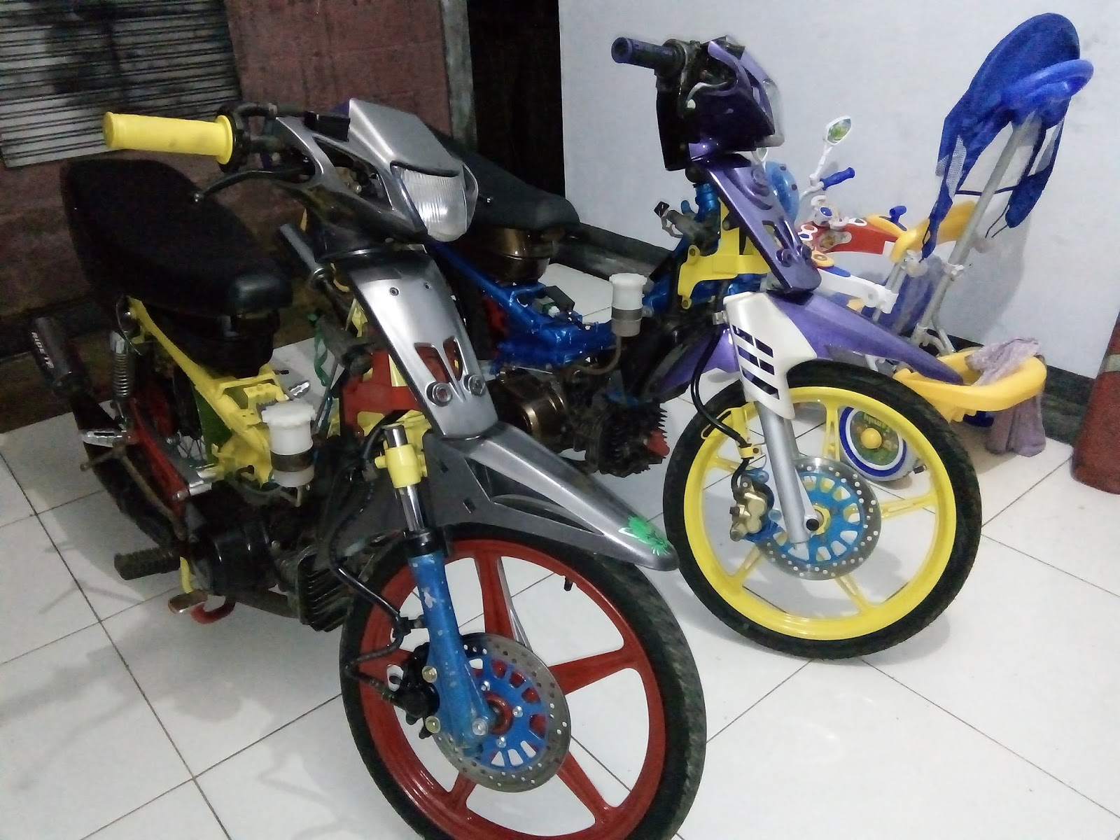 foto modifikasi motor fiz  modifikasi yamah nmax