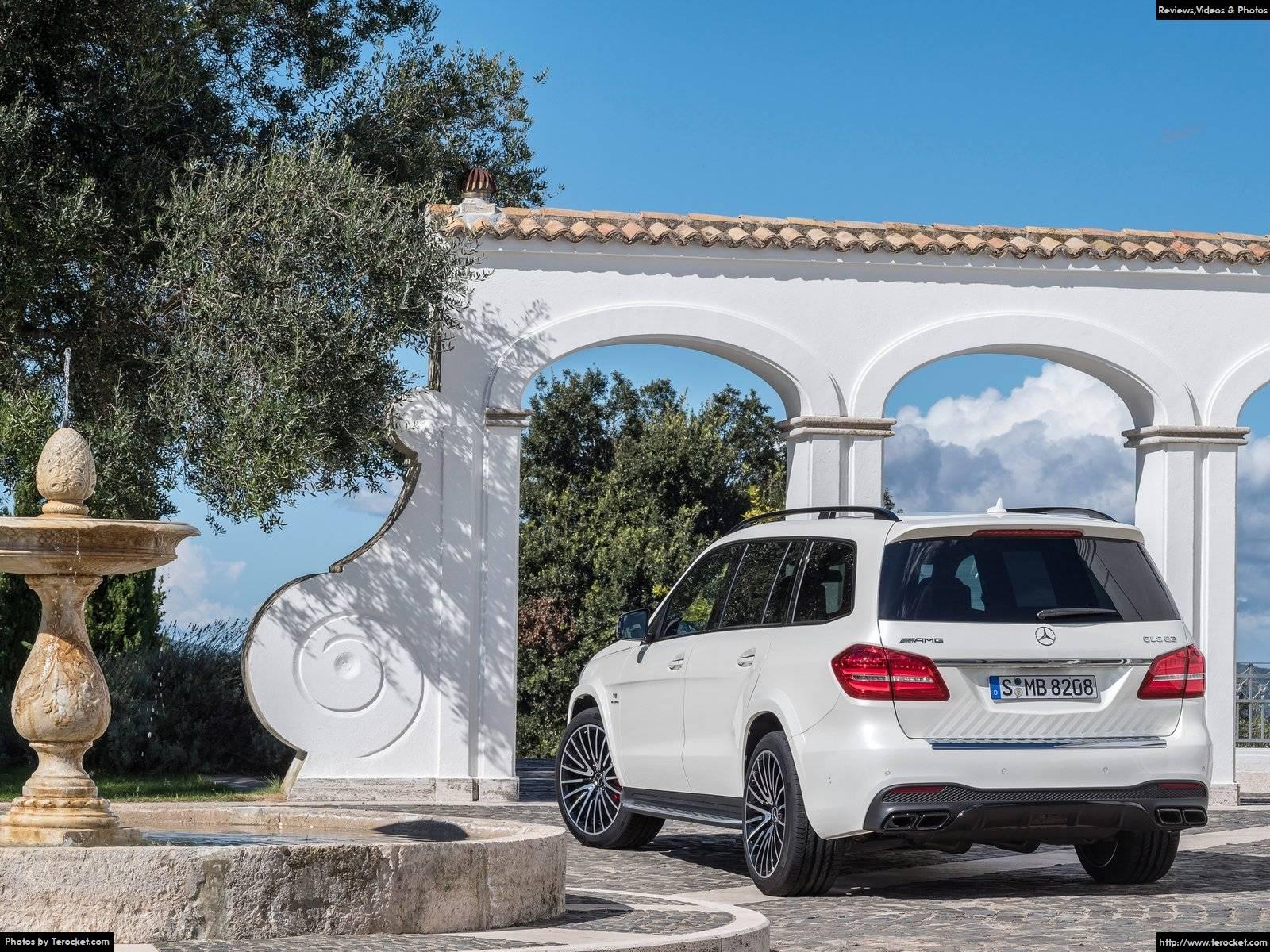 Hình ảnh xe ô tô Mercedes-Benz GLS63 AMG 2017 & nội ngoại thất