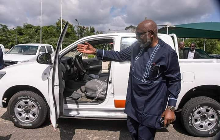 Curbing Waste: Akeredolu Receives First Set Of Refurbished Government Vehicles