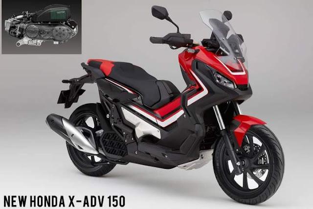 Render Honda X ADV 150