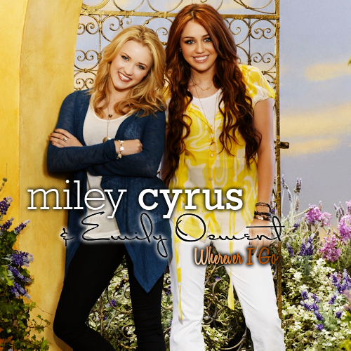 Miley Downloads: [SINGLE] Wherever I Go Feat. Emily Osment