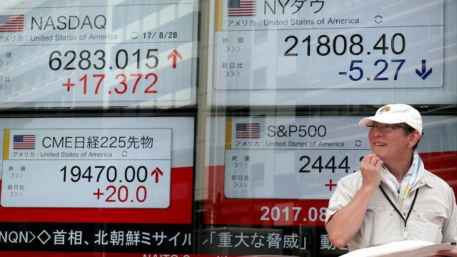 Bursa Saham Asia Naik Walaupun Dibayangi Kekhawatiran Hubungan AS Dengan China