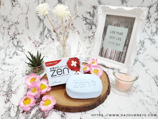 [Review] #ZENAntiBacterial Body Soap Shiso & Seasalt