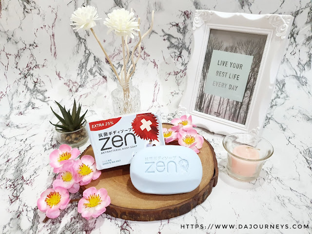 Review #ZENAntiBacterial Body Soap Shiso & Seasalt