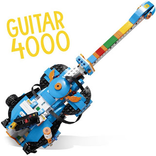 Lego Boost Creative Kit 17101 Guitar 4000 Review