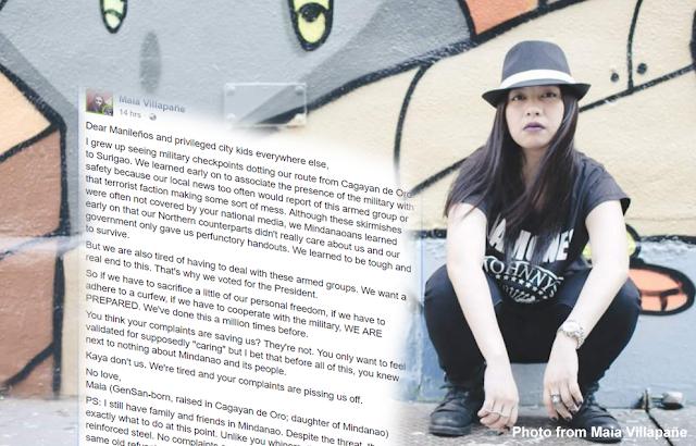 OA kasi masyado! A Mindanaoan's striking open letter to spoiled brat Manileños