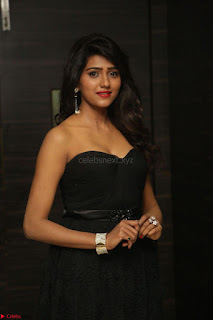 Shalu Chourasiya in spicy Sleeveless Strapless Black Top at O Pilla Nee Valla Movie Audio Launch Feb 2017 056.JPG