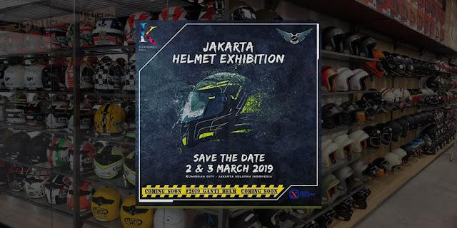 Hari Tanggal dan Tempat Jakarta Helmet Exhibition (JHE) 2019