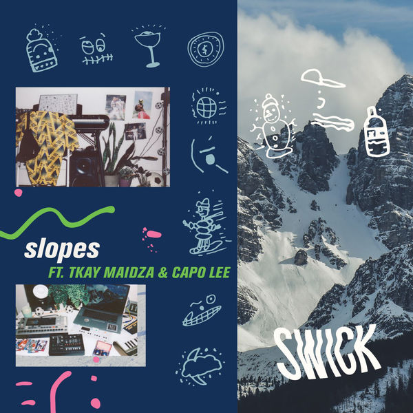 Swick - Slopes (feat. Tkay Maidza & Capo Lee) - Single  Cover