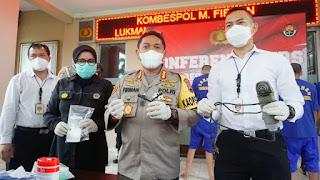 Lima Pelaku Curanmor Banyumas Beraksi di13 Tempat Di Amankan Polisi