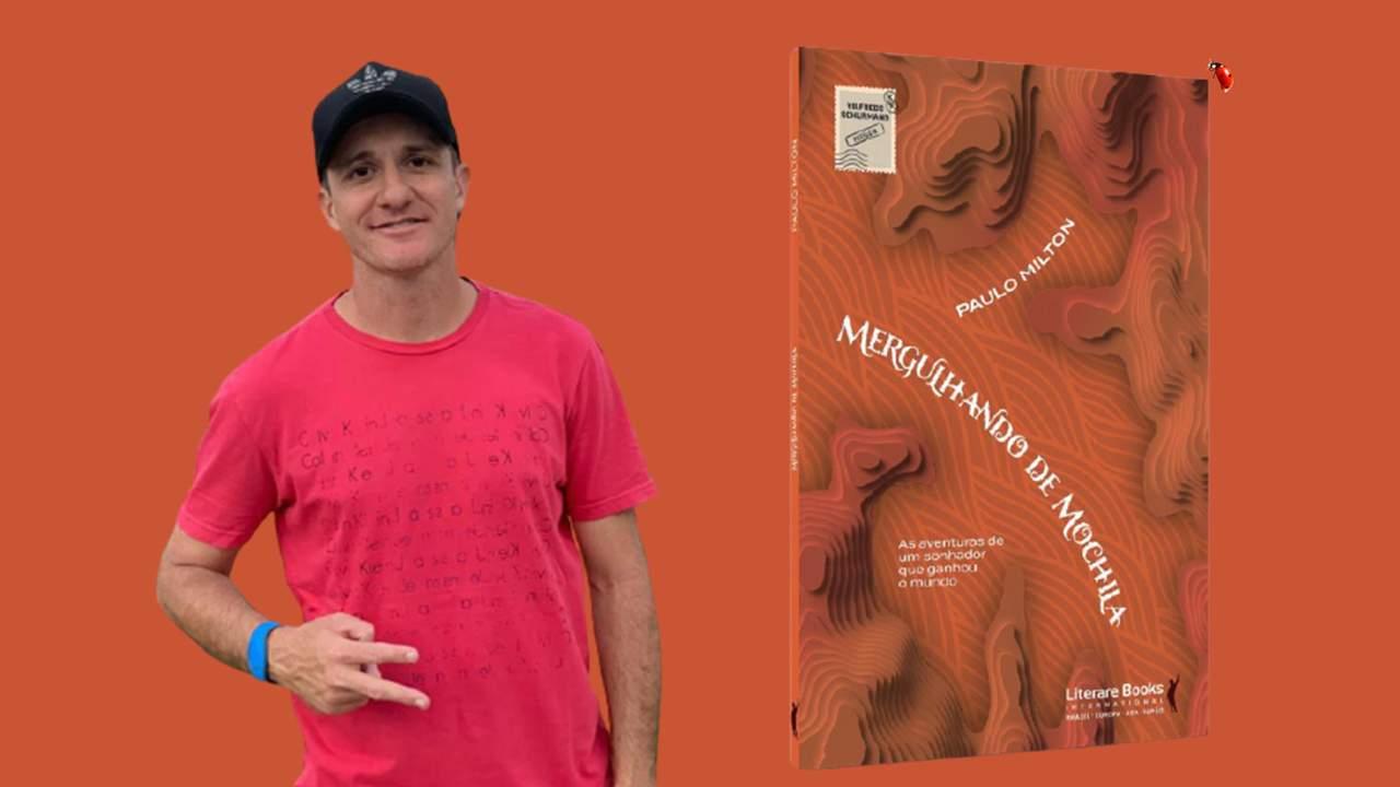 """""""Mergulhando de Mochila"""", de Paulo Milton, tem o prefácio escrito por Vilfredo Schurmann, o capitão da família que se aventura pelo mundo há mais de 36 anos. O livro é uma narrativa de viagem com uma linguagem leve, dinâmica, permeada por aventuras e desafios, em que o autor sugere uma reflexão voltada ao autodesenvolvimento."""