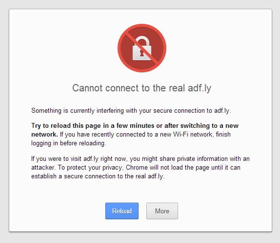 Cara mengatasi error di google chrome