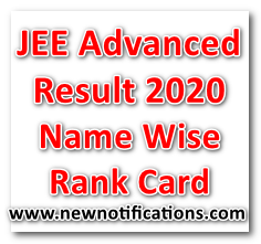 JEE_Advanced_Results_Name Wise – Rank Card