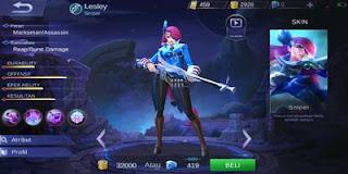 Set Build Item Emblem, Ability, Gear Lesley Terbaik