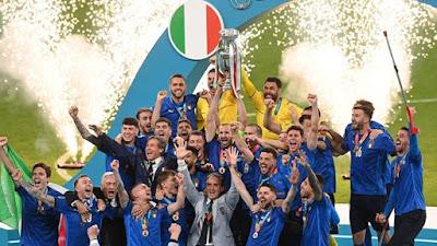 Italia Rajai Eropa Setelah Kalahkan Inggris di Final EURO 2020