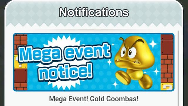 Los Goombas dorados invadirán vuestros móviles en Super Mario Run