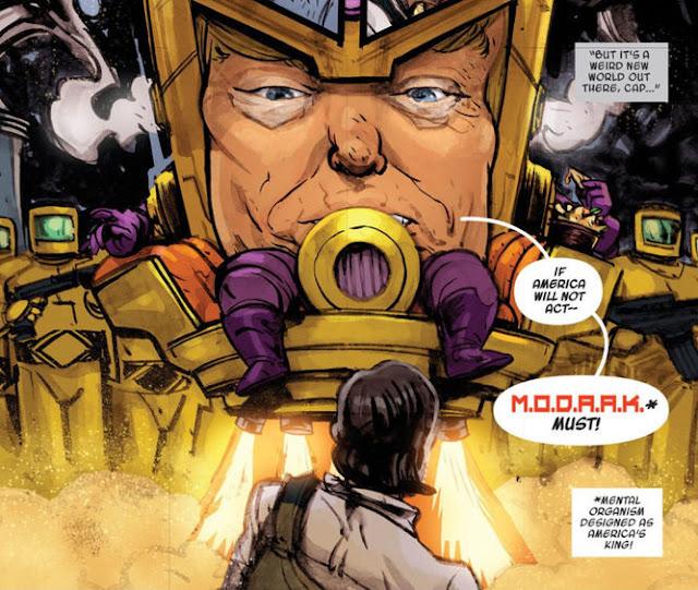 Marvel crea con Donald Trump al villano MODAAK