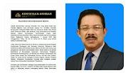 Datuk Seri Mohd Zuki bin Ali Ketua Setiausaha Negara Baharu  2020