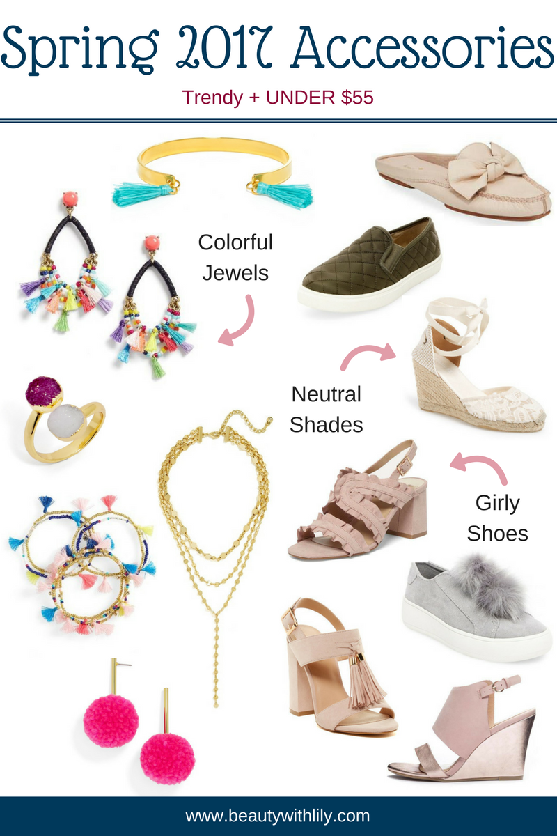 affordable accessories for spring