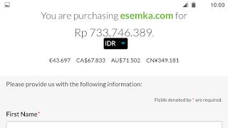 Domain Esemka.com