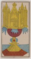 Ace of Cups, Tarot de Marseille, Public Domain.