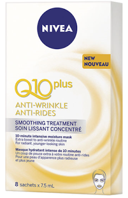 This week I'm obsessed with... Nivea Q10 Anti-Wrinkle Smoothing Treatment!
