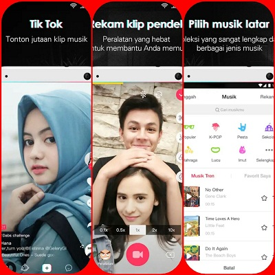 Download aplikasi Tik tok for android