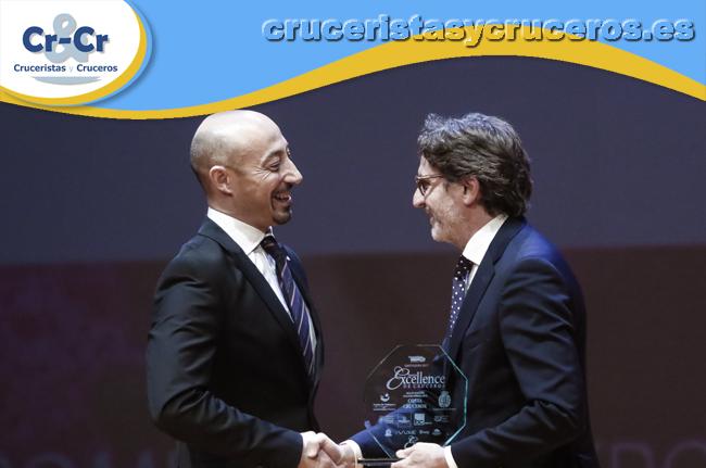 ► Costa Cruceros, galardonada con tres sellos de calidad en los premios Excellence de Cruceros