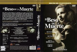 Carátula dvd: El beso de la muerte